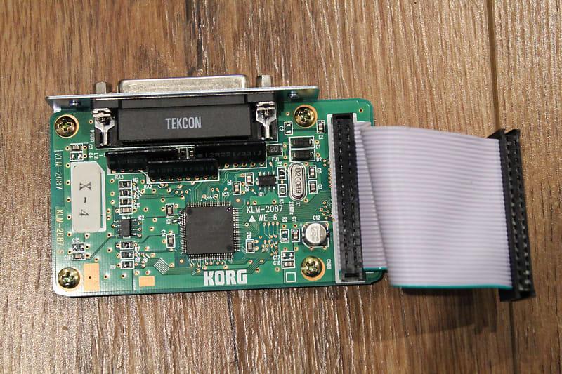 Korg EXB-SCSI Board For Korg Triton Classic Keyboard     KLM-2087