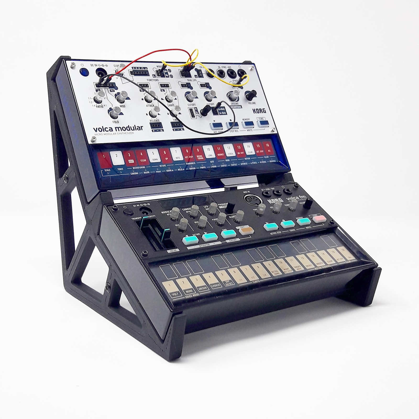 3DWaves Duo Stands For The Korg Volca Synthesizers