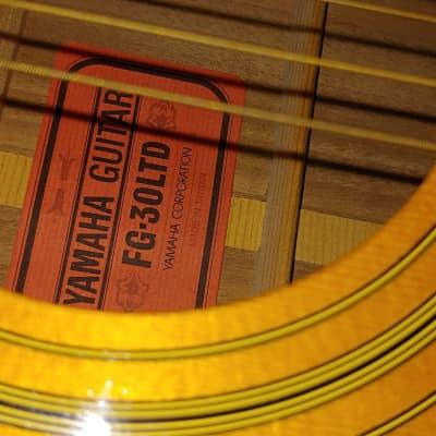 Yamaha FG 30LTD. Red Label