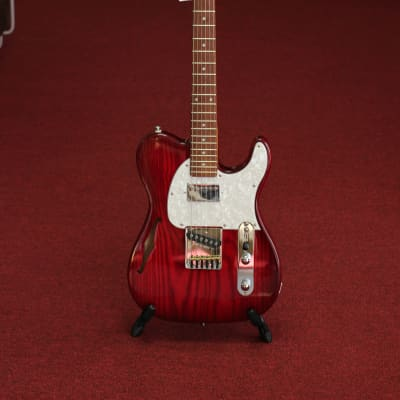 G&L Tribute - ASAT Classic Bluesboy Semi-Hollow - Redburst Finish for sale
