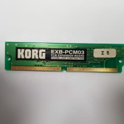 KORG EXB-PCM03 Future Loop Constructions Scheda di Espansione