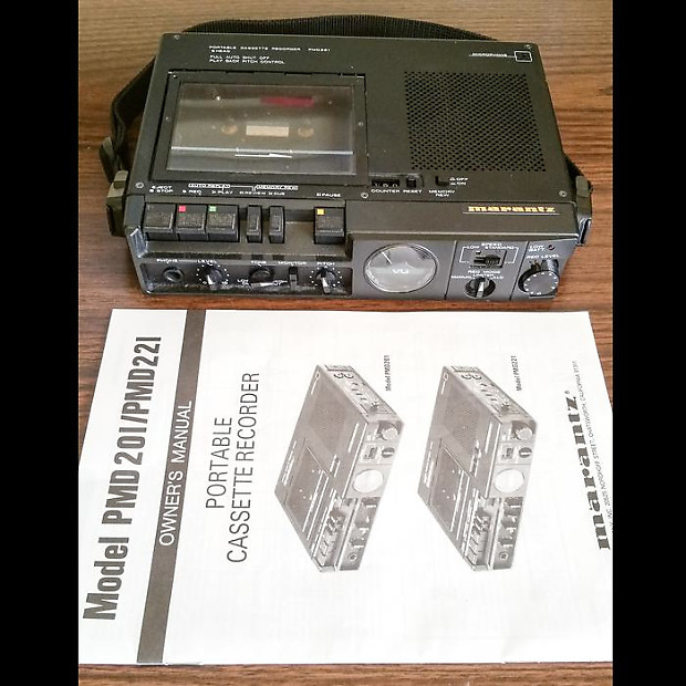Marantz PMD 221 Portable Cassette Recorder | Mike's Music