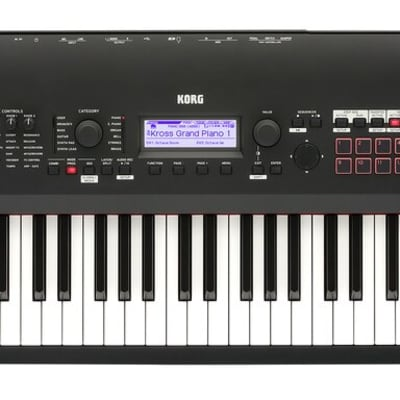 Korg Kross 2 88 Natural Weighted Hammer Action Key Synth Workstation