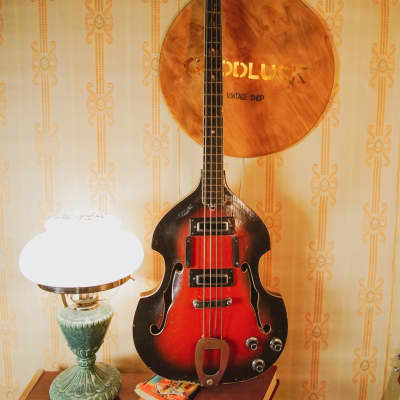 CREMONA VIOLIN BASS GUITAR KREMONA VINTAGE USSR 500/1 for sale