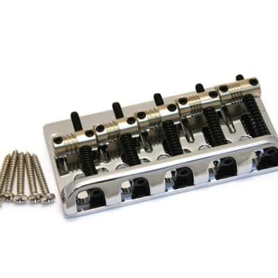 Fender 007-5128-000 American Standard Bass V Bridge Assembly