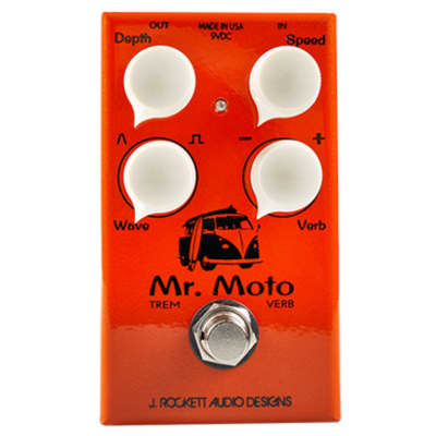 J Rockett Audio Designs Mr. Moto Tremolo & Spring Reverb Pedal for sale