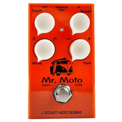 J Rockett Audio Designs Mr. Moto Tremolo & Spring Reverb Pedal for sale