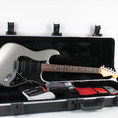 Fender American Deluxe Fat Stratocaster HSS 2011 Tungsten for sale