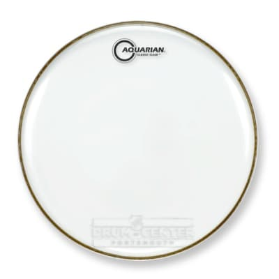 Aquarian Snare/Tom Heads : Classic Clear Snare Drumhead 14