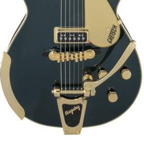 Gretsch G6128T-57 Vintage Select '57 Duo Jet With Bigsby TV Jones Cadillac Green for sale