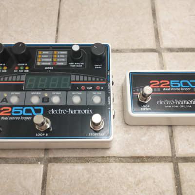 Electro-Harmonix 22500 Dual Stereo Looper Pedal w/ Foot Controller ***PLEASE READ***