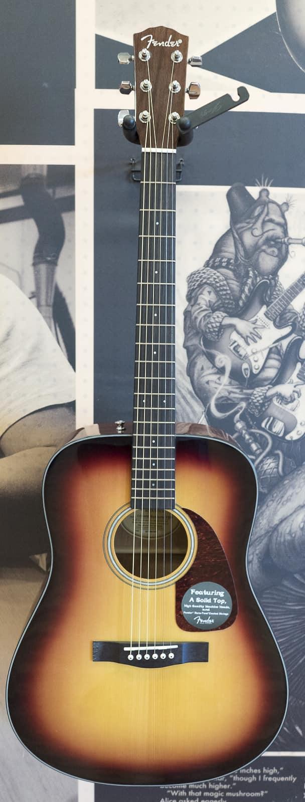 fender cd 140s dreadnought acoustic guitar sunburst reverb. Black Bedroom Furniture Sets. Home Design Ideas