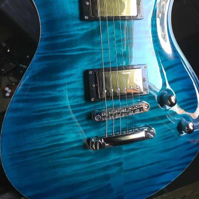 Framus  Panthera supreme  2013 Lagoon Blueburst for sale