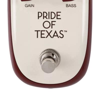 Danelectro Pride of Texas 2018 creme/burgandy