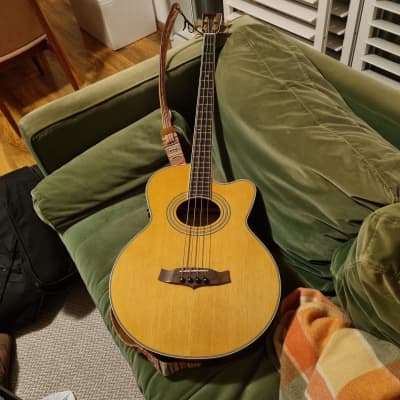 Tanglewood Acoustic Bass TW55A / BASS B mid 2010s natural for sale