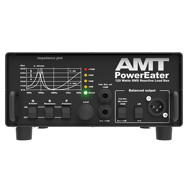 amt electronics pe 120 powereater power eater guitar cabinet reverb. Black Bedroom Furniture Sets. Home Design Ideas