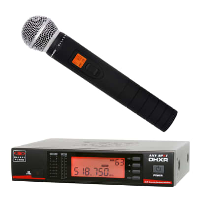 Galaxy Audio DHXR/HH65 Handheld Wireless Microphone System - N (518-542 MHz)