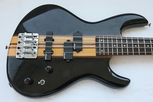 Short Scale Bass Neck : aria pro ii asb60 neck through short scale bass 1980 black reverb ~ Vivirlamusica.com Haus und Dekorationen