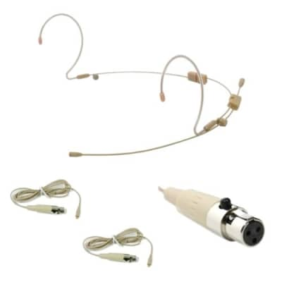 OSP HS-12-AX Tan EarSet Microphone Mic For Audix Bodypack Wireless System RAD360