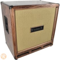Emperor 4x10 Bass Cabinet 2012 Red Mahogany with Wheat Grille image