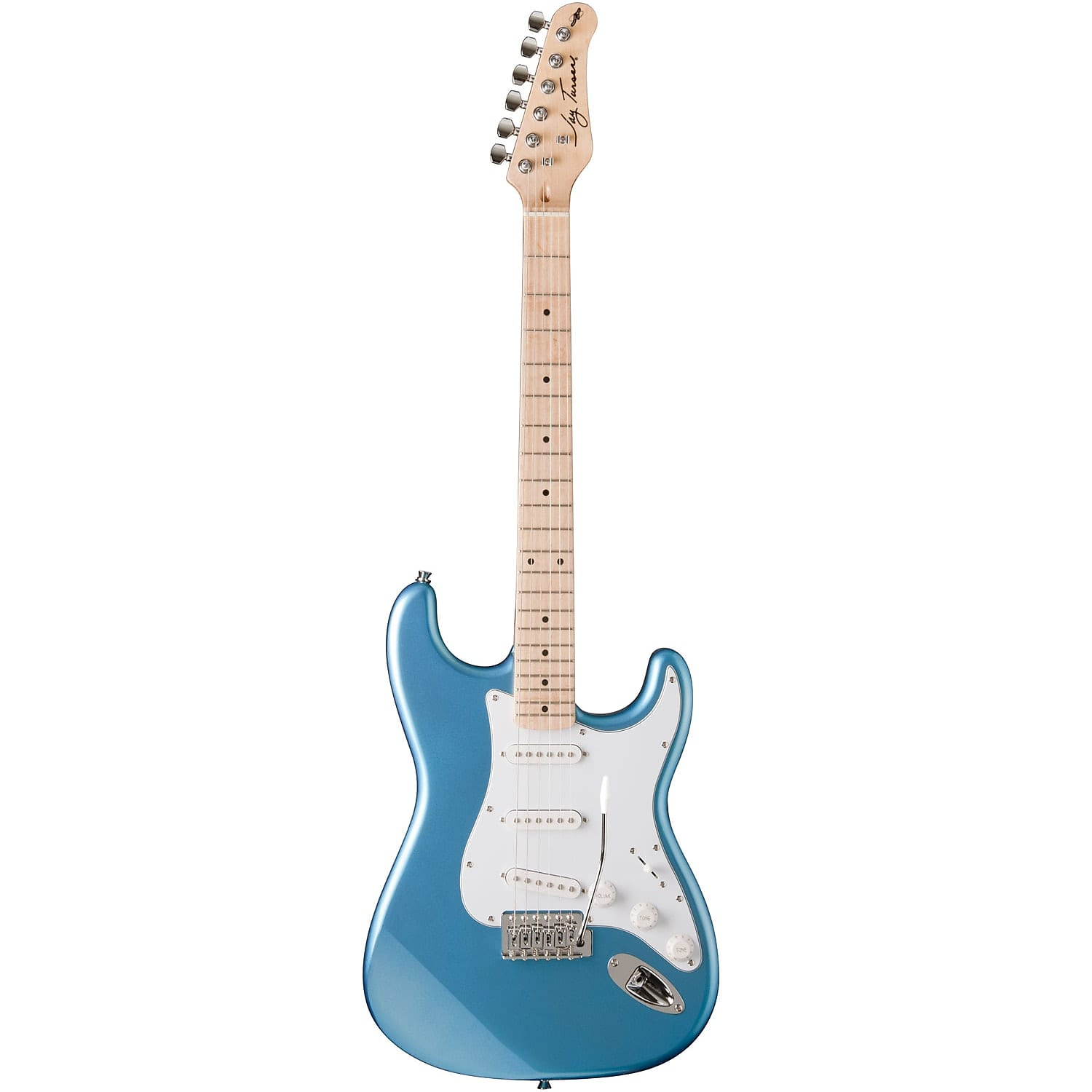 Jay Turser Double Cutaway Maple Electric Guitar Lake Placid Blue