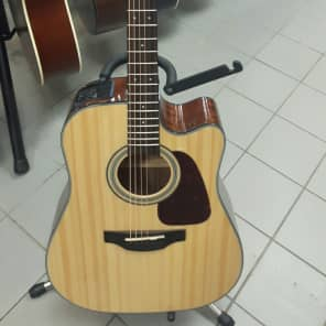 Takamine GD15CE NAT G15 Series Dreadnought Cutaway Acoustic/Electric Guitar Natural Gloss