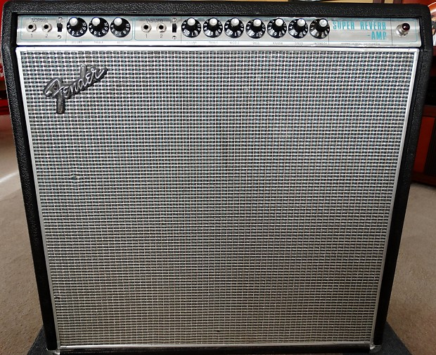Fender Super Reverb 1968 Amplifier