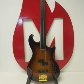 Maton Fretless Bass JB4 1993 Tabaccoburst for sale