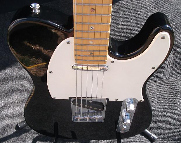 Dean Nash Vegas Zone Electric Guitar Black Tele Reverb