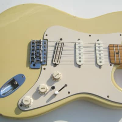 Castilla MIJ Strat 1970's Cream - Roadworn - relic - Period HSC for sale