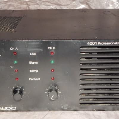 Crest 4001 rack mount touring grade professional power amplifier