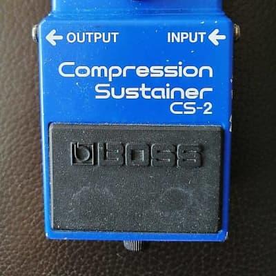 Boss CS-2 Compression Sustainer w/ Radikal Audio's Krystal mod