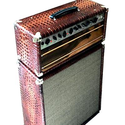 Ashen Marvel 30 Watts+212 Custom Tube Guitar Amp Speaker Cabinet Set for sale
