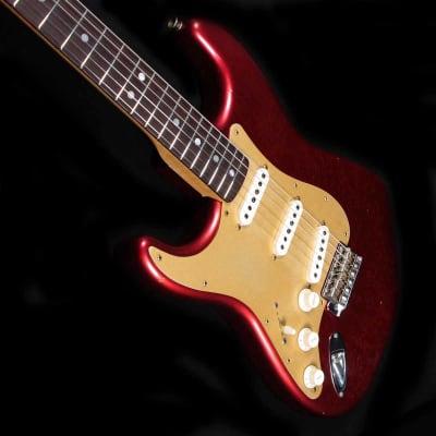 Fender LTD Big Head Strat Aged Candy Apple Red for sale