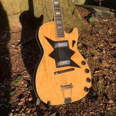 Harmony 1962 Roy Smeck Stratotone Jupiter H7208 Vintage Guitar, Gold Foil pickups 1962 natural
