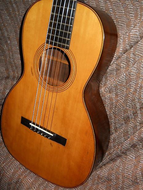 circa 1870 CF Martin 2 1/2 style 17 Acoustic Guitar  NY Martin Parlor guitar
