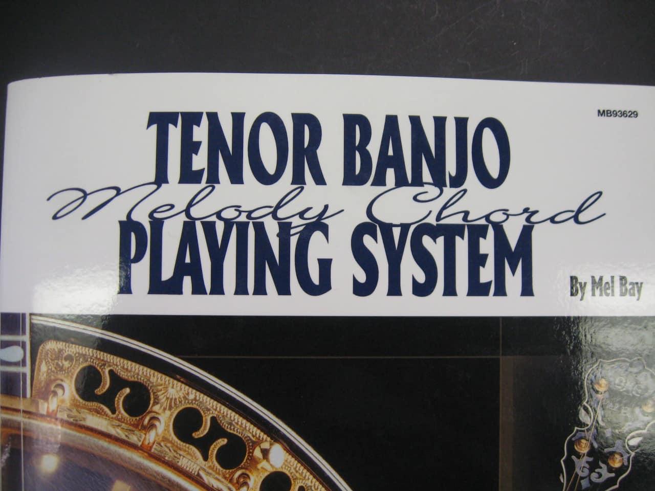 Mel Bay Tenor Banjo Chord Melody System Music Forever Reverb
