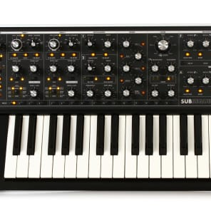 Moog Subsequent 37 Key Analog Synthesizer Mono & Duo Synth Keyboard Sub