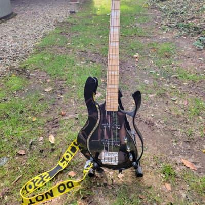 Vox Starstream Active Bass 2S Artist Metallic Black w/ Gotoh Drop Tuner for sale
