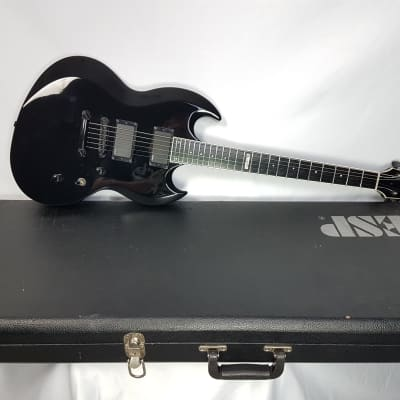 ESP Viper standard Japan 2005 Black Gloss for sale