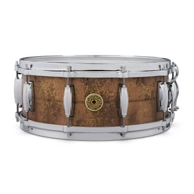 "Gretsch GAS5514-KC Keith Carlock Signature 5.5x14"" Brass Snare Drum"