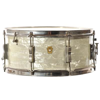"Ludwig No. 471 Auditorium Model 6.5x15"" 8-Lug Snare Drum 1960 - 1968"