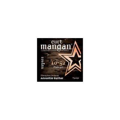 Curt Mangan Phosphor Bronze 10-52 Acoustic Strings