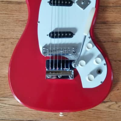 1960's Kalamazoo KG-2A Red electric guitar  Modded Free Shipping for sale