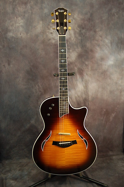 taylor t5 1c thinline acoustic electric guitar 2006 tobacco reverb. Black Bedroom Furniture Sets. Home Design Ideas