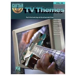 Hal Leonard TV Themes: Guitar Play-Along Volume 45