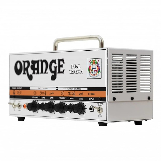 orange dual terror dt30h guitar amplifier head 30 watts reverb. Black Bedroom Furniture Sets. Home Design Ideas