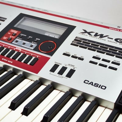 CASIO XW-G1 Hybrid Processing Sound Groove Synthesizer