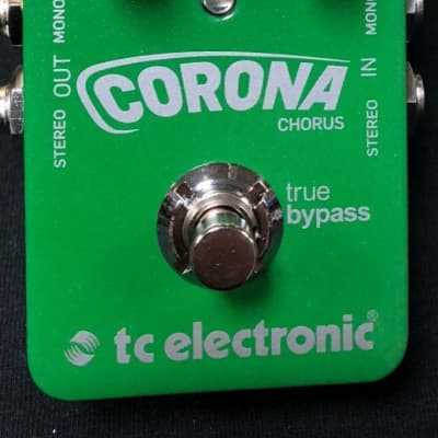 TC Electronic Corona Chorus TonePrint Series Guitar Pedal Authorized Dealer
