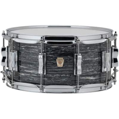 Ludwig Classic Maple Vintage Black Oyster Pearl 14x5 Snare Drum NEW Made in USA | Authorized Dealer